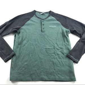 Columbia Mid Weight Thermal Raglan Henly Shirt